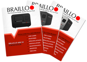Braillo S2 Braille Printer Brochures