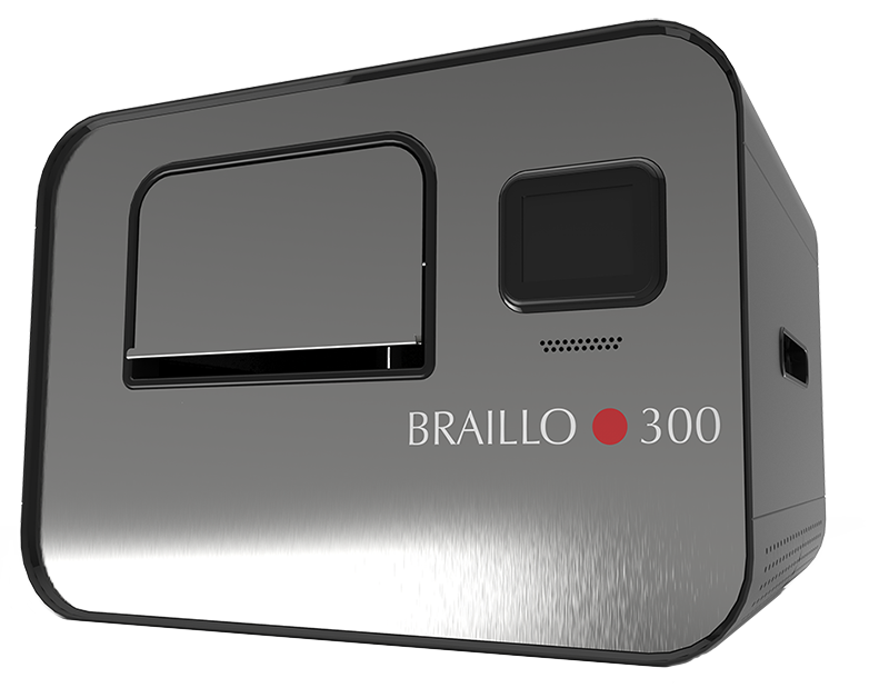 BRAILLO 300 S2 Now Shipping