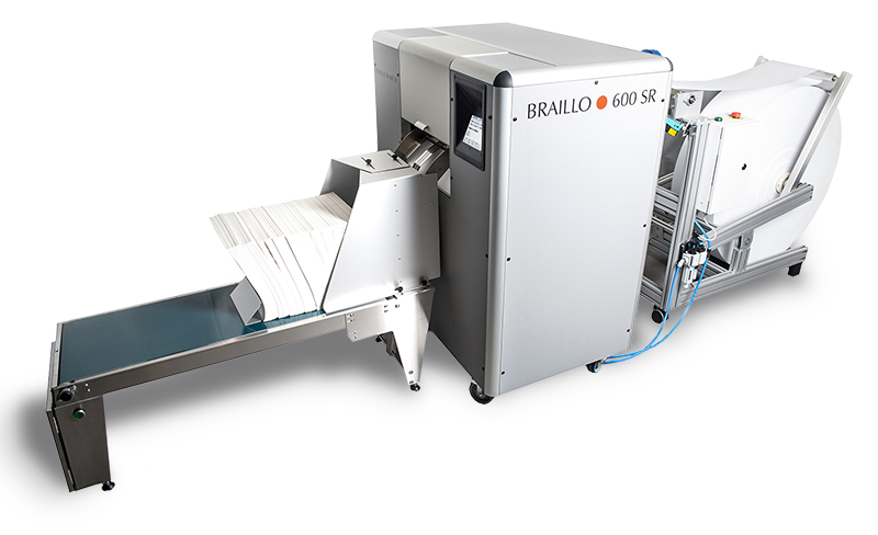Braillo 600 SR braille printer