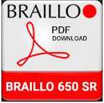 Braillo 650 SR Braille Printer