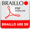 Braillo 600 SR Braille Printer Brochure