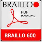 Braillo 600 Braille Printer Brochure