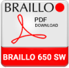 Braillo 650 SW Braille Printer Brochure