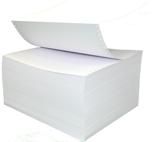 Continuous Feed Braille Paper