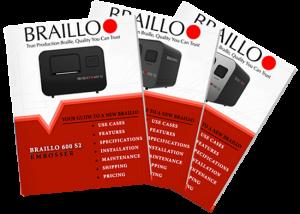 Braillo S2 Braille Printer Brochures