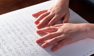 Reading Large Format Braille Books