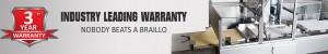 Industry Leading Braille Printer Warranty
