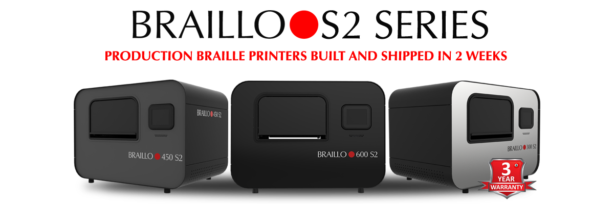 Braille S2 BRAILLE PRINTERS