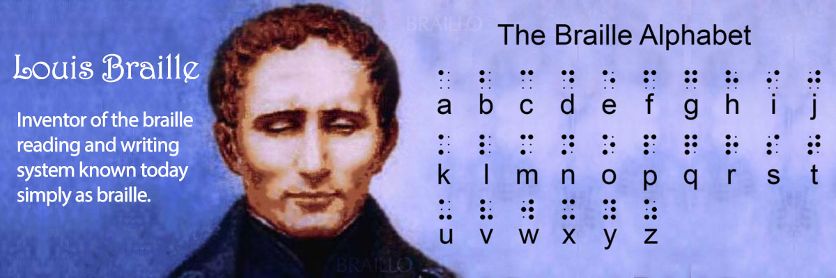 Louis Braille Day - Braillo Braille Printers and Braille Embossers