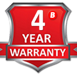 Braillo Leading 4 Year Warranty