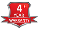 Braillo 4 year Industry Leading Warranty