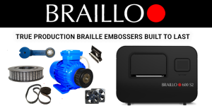 What are True Production Braille Printers